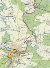 Pěšky - trasa 18 km - Bechyně - Dobronice - Bechyně