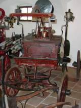 exponáty hasičského muzea